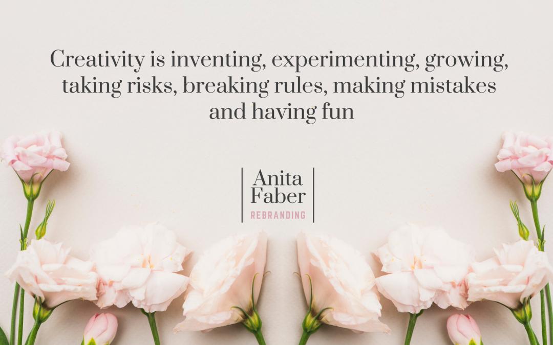Iedere creatie is een kindje